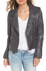 Blank Nyc Women's Blanknyc 'Easy Rider' Faux Leather Moto Jacket Revved Up