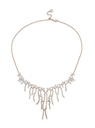 Monica Vinader Rp Riva Waterfall Cocktail Diamond Necklace Gold