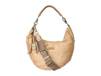 Frye Jenny Hobo Beige Soft Vintage Leather Hobo Handbags