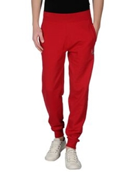 Emporio Armani Ea7 Casual Pants Red