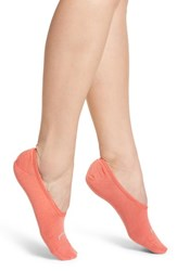Smartwool Hide And Seek No Show Socks Bright Coral