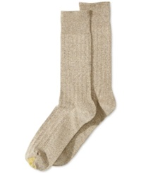 Gold Toe Ribbed Dress Socks Khaki