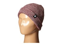 Neff Daily Heather Beanie Youth Maroon White Beanies Burgundy
