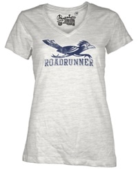 Royce Apparel Inc Women's Short Sleeve University Of Texas San Antonio Roadrunners T Shirt White