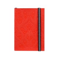 Christian Lacroix A6 Paseo Embossed Notebook Scarlet