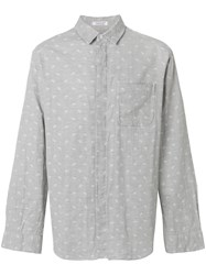 Engineered Garments Paisley Print Shirt Grey