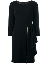 Boutique Moschino Fitted Dress Black