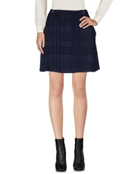 Libertine Libertine Mini Skirts Dark Blue