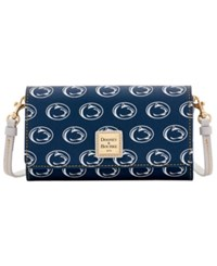 Dooney And Bourke Penn State Nittany Lions Daphne Crossbody Wallet Navy