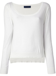 Sharon Wauchob Scoop Neck Top White