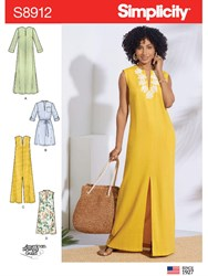 Simplicity 'S Dress Sewing Pattern 8912