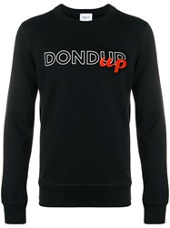 Dondup Logo Sweatshirt Black