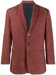 Jean Paul Gaultier Vintage Striped Jacket Red