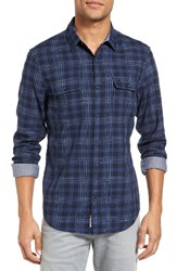Original Penguin Men's Trim Fit Double Cloth Shirt