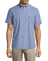 Brooks Brothers Button Down Short Sleeved Shortshirt Open Red