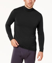 32 Degrees Men's Base Layer Turtleneck Shirt Black
