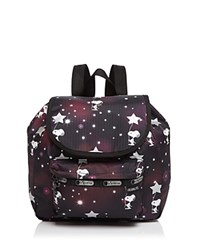 Le Sport Sac Lesportsac Edie Small Backpack Snoopy In The Stars