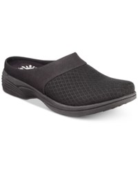Easy Street Shoes Cozy Mules Black