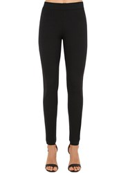 Wolford The Tux Stretch Viscose Jersey Leggings Black