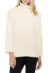 Women's Vince Camuto Ribbed Turtleneck Sweater Antique White