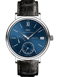 Iwc Iw510106 Portofino Alligator Leather Watch