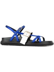 Marni Fussbet Sandals Blue