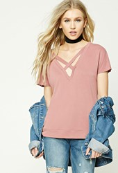 Forever 21 Caged Front Top
