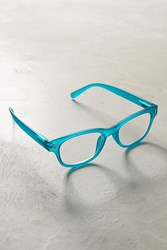 Anthropologie Sea Glass Readers Turquoise