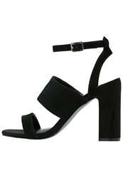Warehouse High Heeled Sandals Black