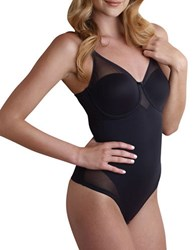Miraclesuit Sexy Sheer Extra Firm Body Briefer Black