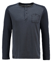 Tom Tailor Long Sleeved Top Real Navy Blue Dark Blue