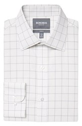 Men's Bonobos Slim Fit Wrinkle Free Windowpane Plaid Dress Shirt