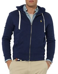 Polo Ralph Lauren Full Zip Fleece Hoodie Cruise Navy