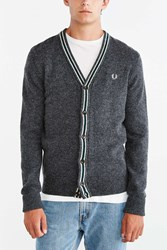 Fred Perry Cardigan Charcoal