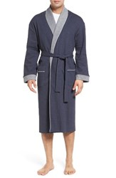 Majestic International Men's Nova Robe Navy