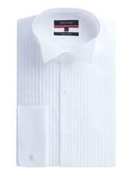 Pierre Cardin Men's Dinner Shirt White