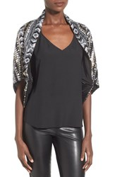 Women's Collection Xiix 'Dazzling' Sequined Shrug