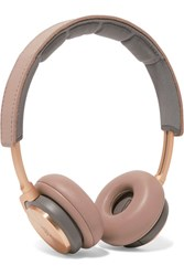 B And O Play H8 Wireless Leather Aluminium Headphones Beige