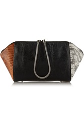 Alexander Wang Chastity Lizard Effect Leather Cosmetic Case