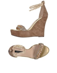 Patrizia Pepe Sandals Light Brown