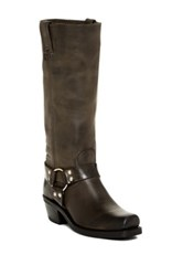 Frye Harness Riding Boot Gray