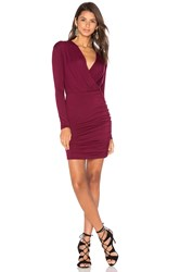 De Lacy Kelsi Dress Burgundy