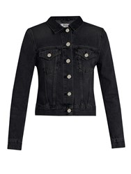 Acne Studios Top Denim Jacket Black