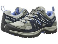 Salomon Ellipse 2 Aero Titanium Deep Blue Petunia Blue Women's Shoes Gray