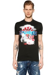 Dsquared Japan Printed Jersey T Shirt