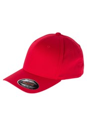 Flexfit Wooly Combed Cap Red