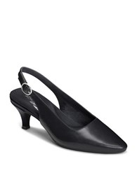 Aerosoles Chardonnay Sling Back Shoes Black