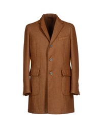 Siviglia Denim Coats Brown