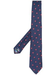 Paul Smith Embroidered Floral Tie 60