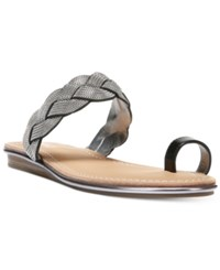 Carlos By Carlos Santana Finnegan Flat Sandals Women's Shoes Black